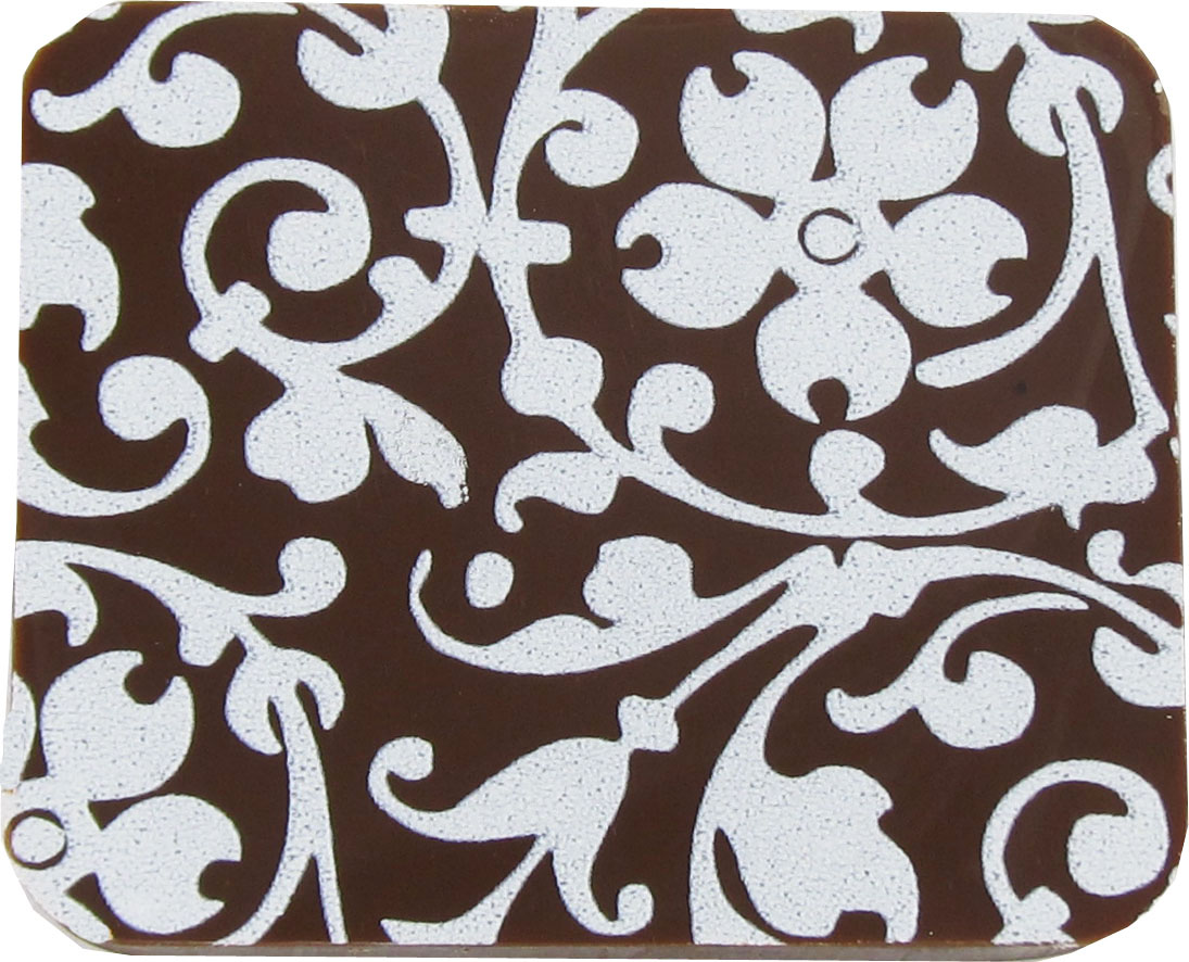 FloralScroll white