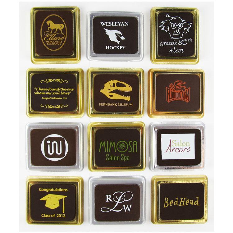 Custom Solid Chocolate